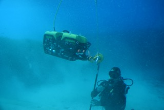 SEAMOR ROV used in Deep Sea Archeaological Search