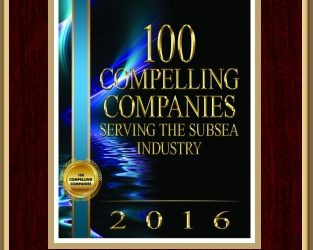 SEAMOR awarded Marine Technology Reporter 100 Compelling Companies