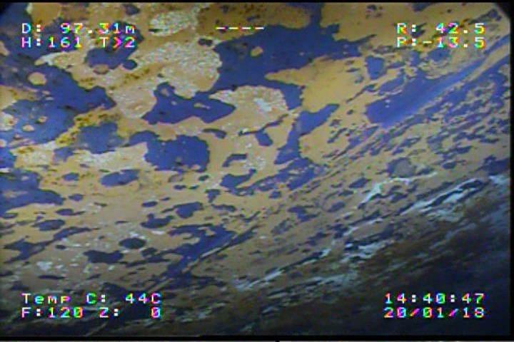 SEAMOR ROV provides support to oil tanker leak