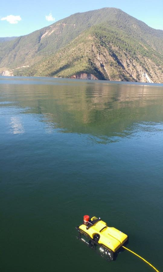 SEAMOR ROV completes dam inspection on the Jinsha River