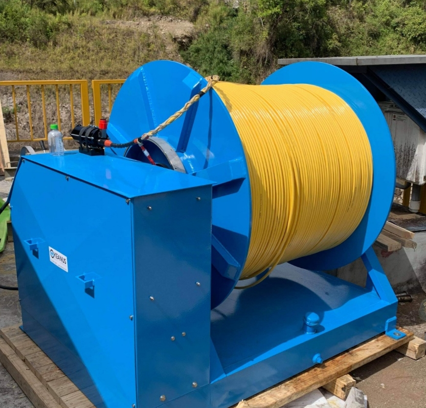 SEAMOR Marine debuts innovative ROV with 3km capacity for Panama Hydroelectric Project