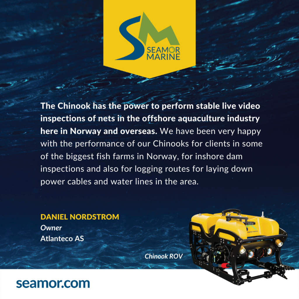 What do our clients say about the SEMAOR ROV?