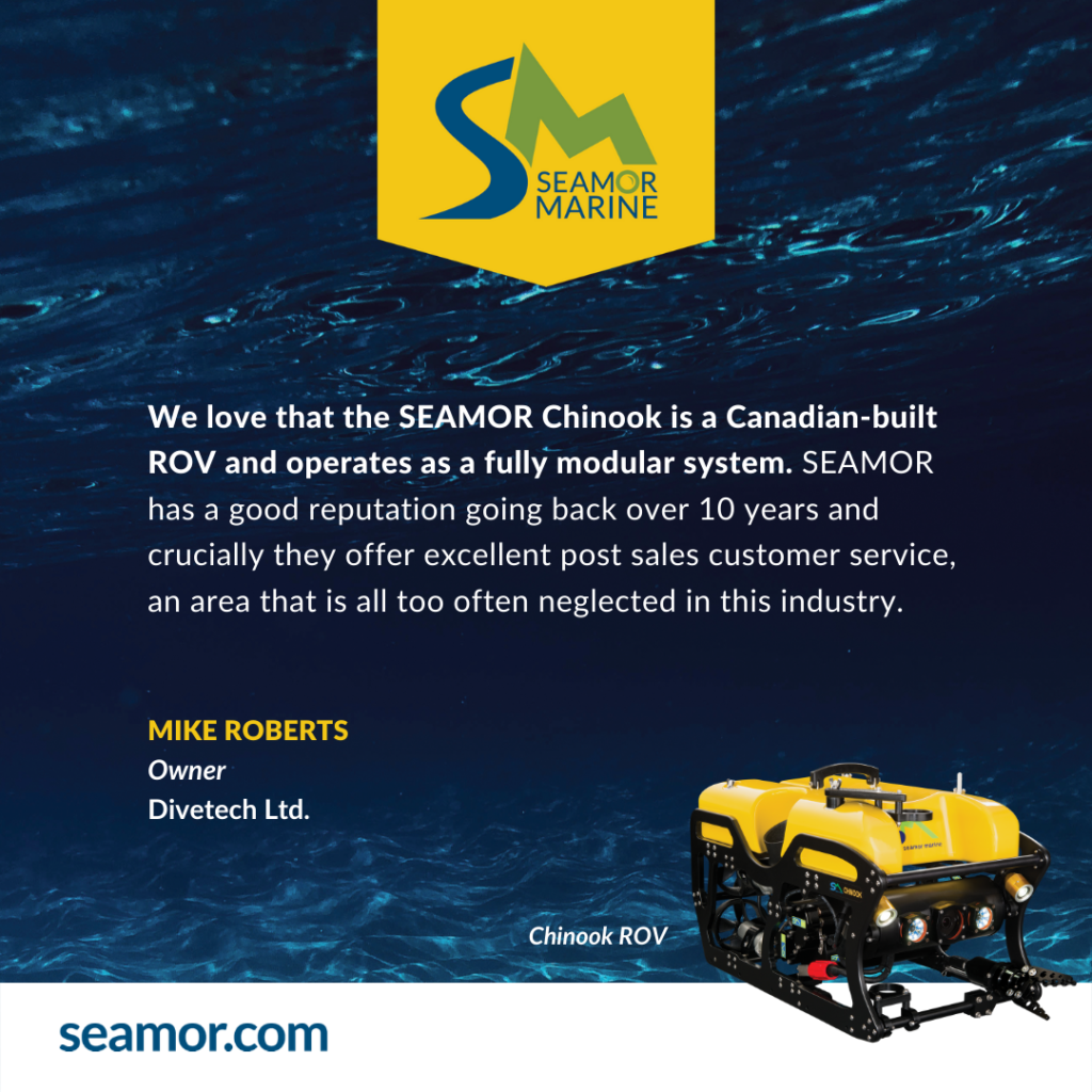 What do our clients say about the SEAMOR ROV?