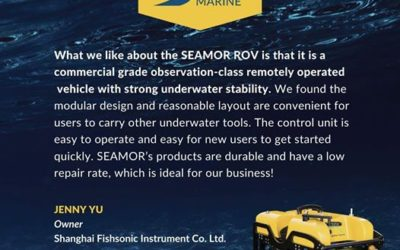What do our customers say about the SEAMOR ROV?