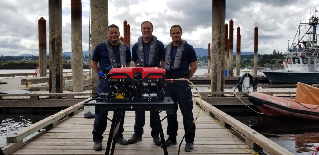 RCMP's NURTC adds SEAMOR's Chinook ROV to its program