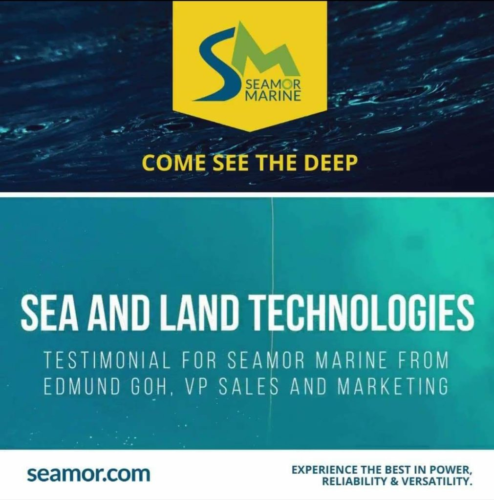 What does our customer say about the SEAMOR ROV?