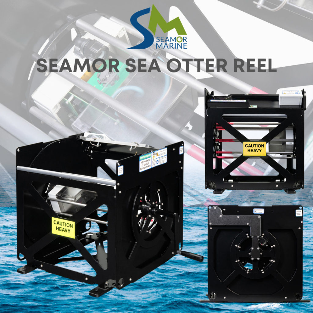 REVOLUTIONARY NEW SEA OTTER TETHER MANAGEMENT SYSTEM